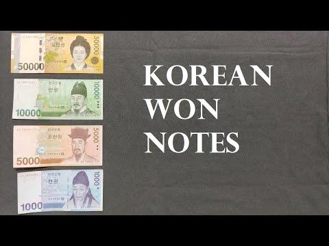 Korean Won Notes Explained (원, ₩, KRW)