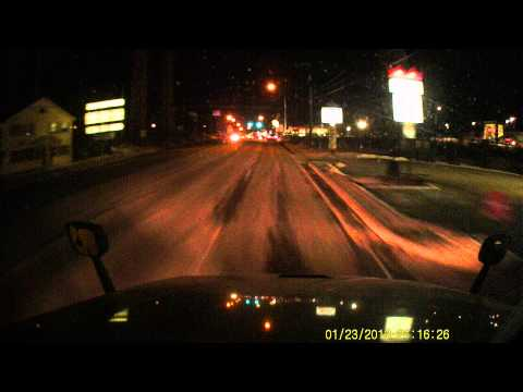 Sample Footage From HD DVR Dash Cam By Top Dawg