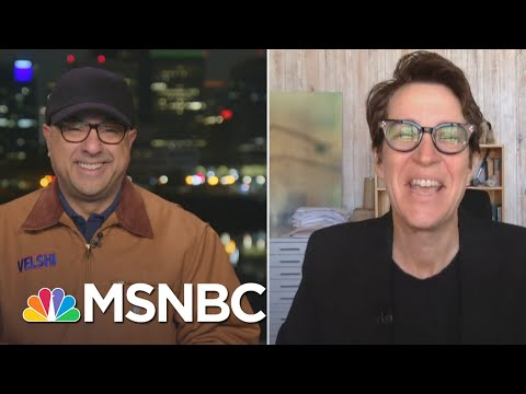 Velshi Talks with Maddow For The First Interview About Her New Book 'Bag Man'   MSNBC