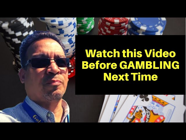 (Watch this Video Before GAMBLING Next Time) Why GAMBLING Will Kill Any Life You have!