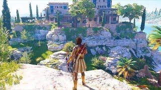 Assassin's Creed Odyssey Spear of Leonidas, Stealth Kills, Leap of Faith & Naval Combat Gameplay