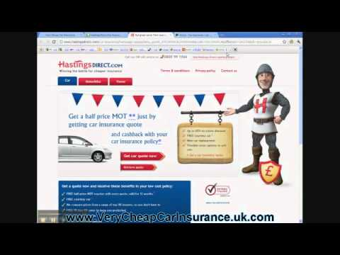 How To Find Very Cheap Car Insurance - Stage 2