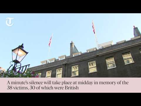 UK lowers flag to half mast in memory of Tunisian shooting victims