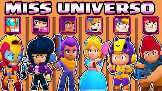 GIRLS OLYMPICS | WHAT IS THE BEST BRAWLER? | MISS UNIVERSE BRAWL STARS