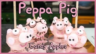 Peppa Pig Candy Apple - Easy Family DIY Bakes