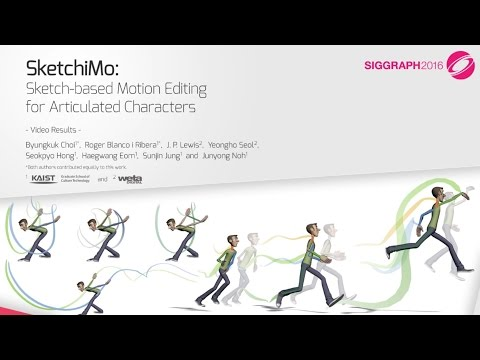 SketchiMo: Sketch-based Motion Editing for Articulated Characters