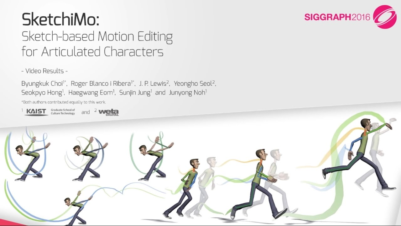 Motion Editing and Filtering