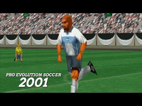 EL PRIMER PRO EVOLUTION SOCCER DE LA SAGA!!!! (2001)