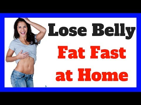 How to Lose Belly Fat Fast at Home 💪🔥✔