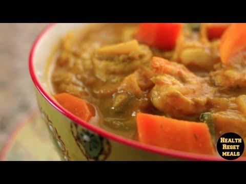 Diabetic Haitian Soup Joumou  (Oscars 2015)    Health Reset Meals