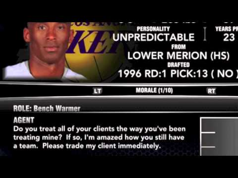 NBA Y2K, KOBES BRYANT: THE CONCLUSION.