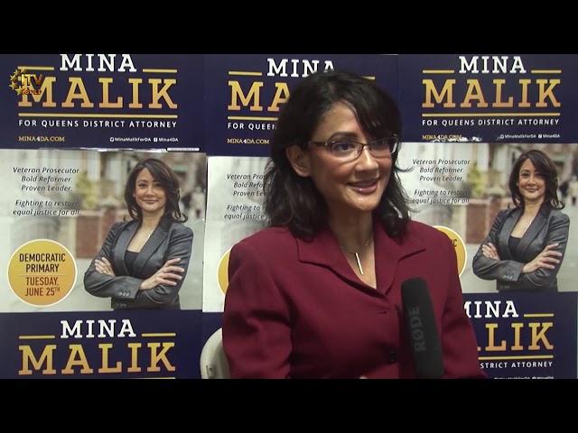 Mina Malik - Candidate for Queens DA