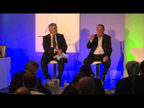 ECB ACO National Conference - Ian Gould Interview On Umpiring