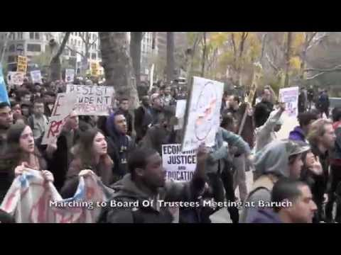 N21 Rally and March Against CUNY Tuition Hikes at Baruch
