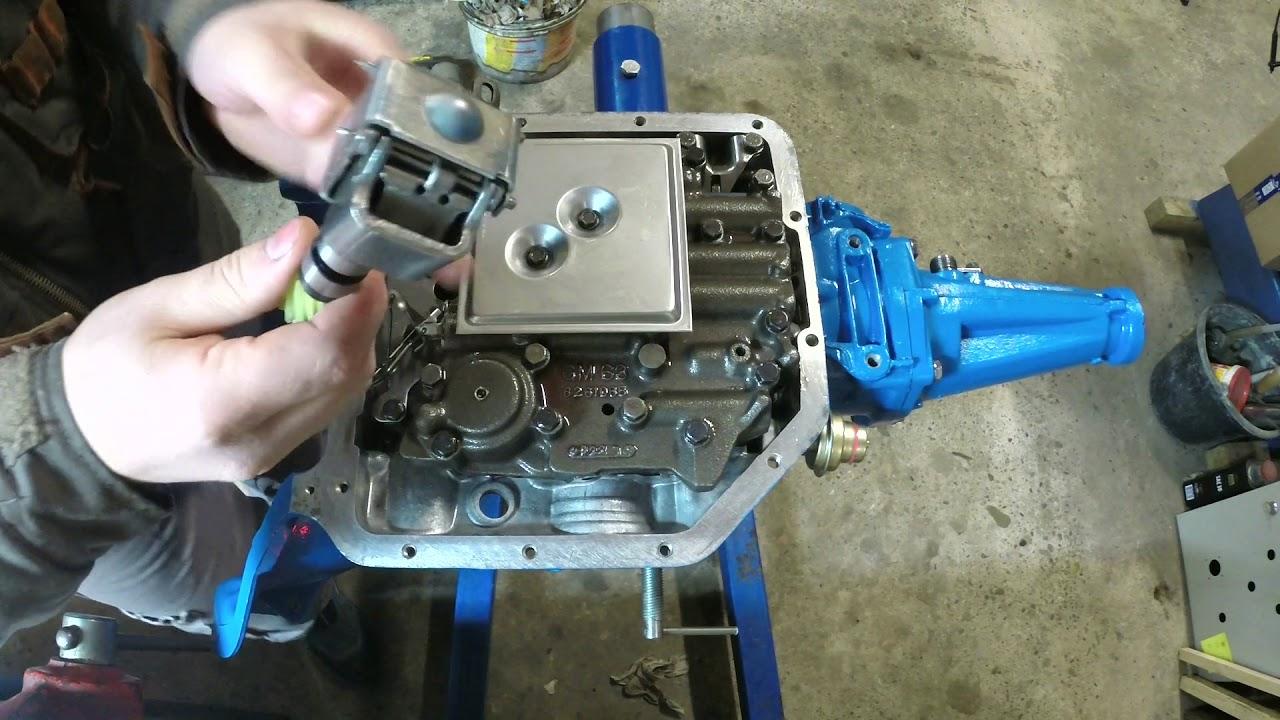 restauration et modification boite de vitesse automatique chevrolet th 350 partie 12 youtube