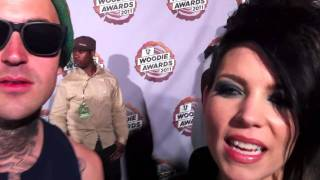 Yelawolf & Skylar Grey at the MTVu Woodie Awards