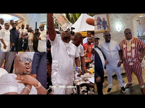 Download Cubana Chief Priest Return To Oba WITH More Rain Of Money As Obi Cubana Called Him King Of NightLife