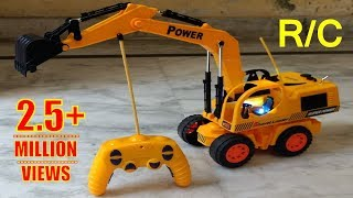 RC Adventure | Unboxing & Testing Of My First R/C Excavator Super Power Truck.