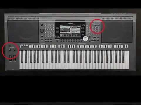 How To Transpose On Yamaha S