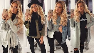WINTER OUTFITS with BLACK JEANS! ☃️ 2018 / 2019
