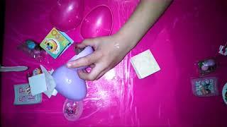huevos sorpresa shopkins//surprise egg of plastic whith candy🍬🍭🥚