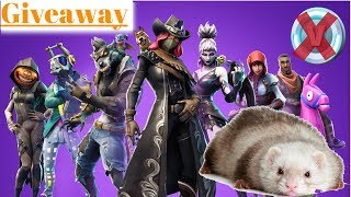 Fortnite Giveaway: Zero Vbucks, a marionette puppet and a blind ferret