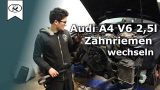 Audi A4 V6 2.5 Zahnriemen Wechsel  |  Change of Timing belt  | VitjaWolf  | Tutorial  | HD