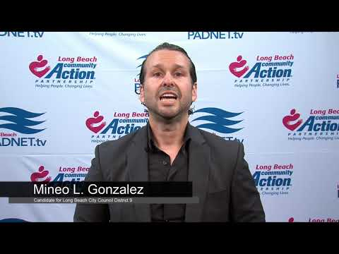 Mineo L. Gonzalez - Council District 9 Candidate - 2018 Long Beach Primary