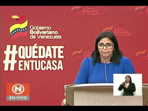 Reporte Coronavirus Venezuela, 20/04/2020: 29 nuevos casos y un fallecido, informa Delcy Rodríguez