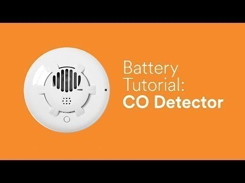 Battery Tutorial Carbon Monoxide Detector Youtube