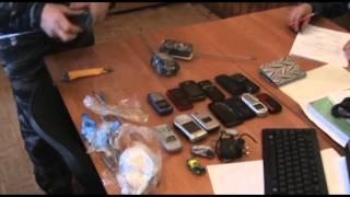 Задержание перекидчицы с 20 телефонами ИК 1 Мариинск