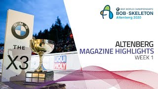 Altenberg | BMW IBSF World Championships 2020 | Magazine (Week 1) | IBSF Official