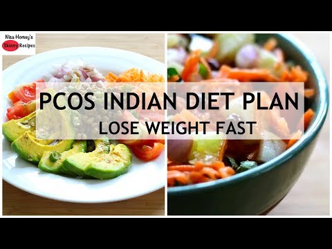 PCOS Indian Meal Plan- Full Day Of Eating - Diet Plan To Lose Weight Fast | Skinny Recipes