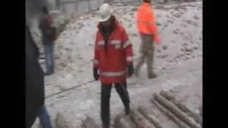 KomÍn čeká!!! - odstřel komína Kutná Hora