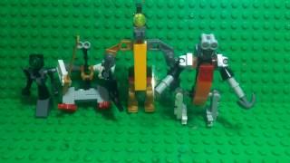 Лего фигурки роботов и киборгов Lego