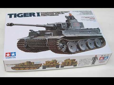 Tamiya 1/35 Tiger 1 Early Production review