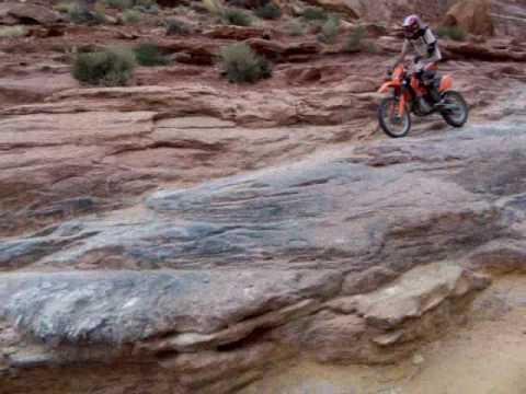 moab pritchett canyon dirt bike crash in style youtube. Black Bedroom Furniture Sets. Home Design Ideas