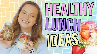 Healthy School Lunch Ideas! 5 Minute Meals!