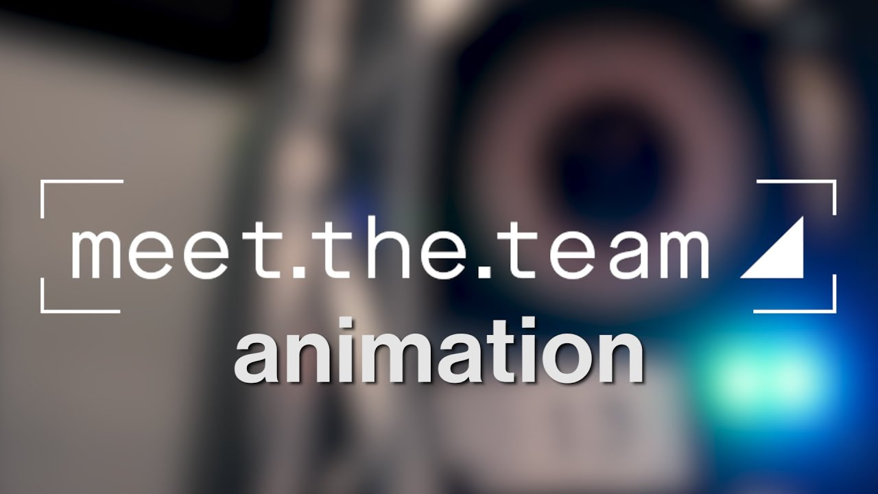Meet the Team #3: Animation