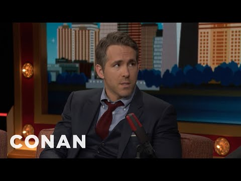Ryan Reynolds Told The Canadian Prime Minister To Annex Alaska   CONAN on TBS