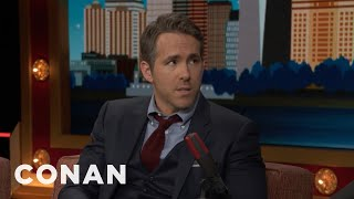 Ryan Reynolds Told The Canadian Prime Minister To Annex Alaska  - CONAN on TBS