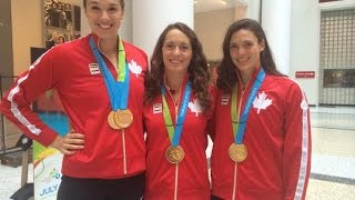 Swimmers strike gold: 4x100m relay beat U.S. rivals for the gold