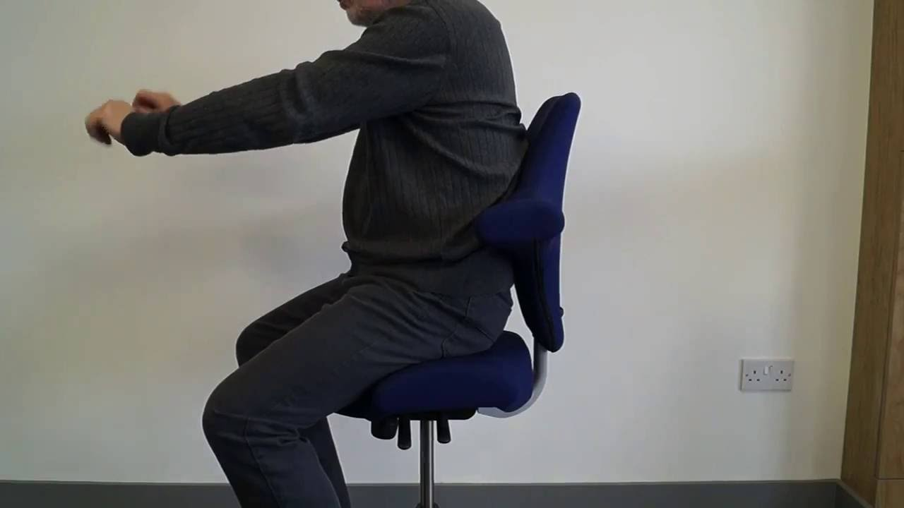 Hag Posture Chair Deck Photo Frame Capisco Saddle Review Why Use An Office
