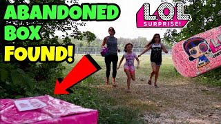 LOL SURPRISE! SERIES 4 | ABANDONED MYSTERY BOX FOUND in Secret FOREST!! Episode 1: Hidden Clues