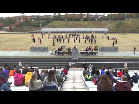 Spotsylvania High School Marching Knights at Powhatan