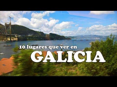 GALICIA 10 LUGARES QUE VISITAR