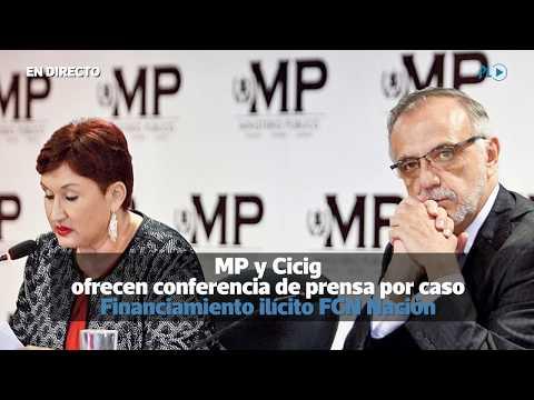 MP y Cicig ofrecen conferencia de prensa | Prensa Libre