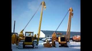 видео Запчасти трубоукладчика ТГ-511 Четра