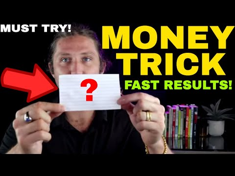 WHEN YOU NEED TO MAKE MONEY FAST, DO THIS!