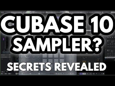 cubase 10  Pro sampler Tutorial 1/2